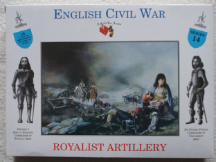 A Call To Arms 1/32 CAL3214 Royalist Artillery Crew (ECW)